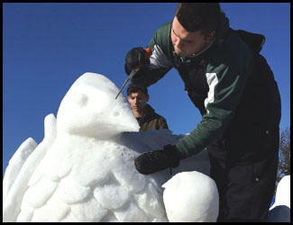 Local Students Featured at Frankenmuth Snowfest