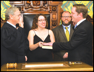 Frederick Officially Sworn in As State Representative