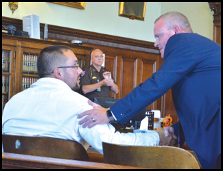 Drug Court Graduate Celebrated